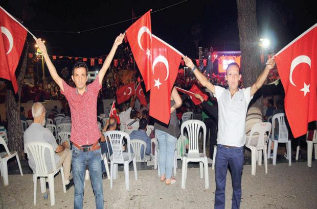 Antalya demokras nöbeti