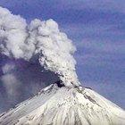 Meksika'daki Popocatepetl Yanardağı kükredi