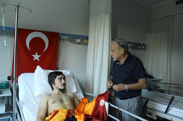 G.Saray'dan Emin Oğuz Ayanoğlu'na ziyaret!