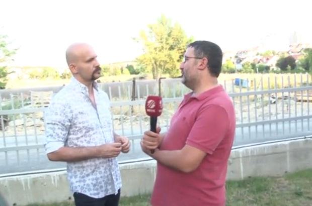 Beyaz TV muhabiri Levent Kelleci Atalay Demirci'nin yüzüne tükürdü (VİDEO)