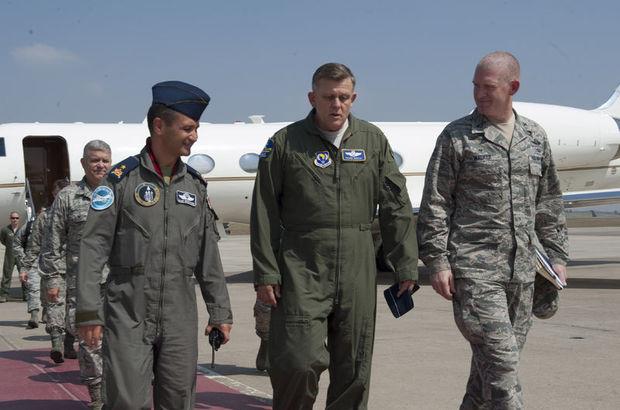 ABD Avrupa Hava Kuvvetleri Komutanı Frank Gorenc İncirlik