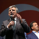 Abdullah Gül de 'Demokrasi ve Şehitler Mitingi'ne katılacak