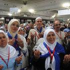 İstanbul'dan giden hac kafilesi törenle uğurlandı
