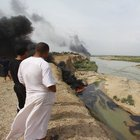 IŞİD Kayara rafinerisinden Dicle Nehri'ne petrol pompalamış