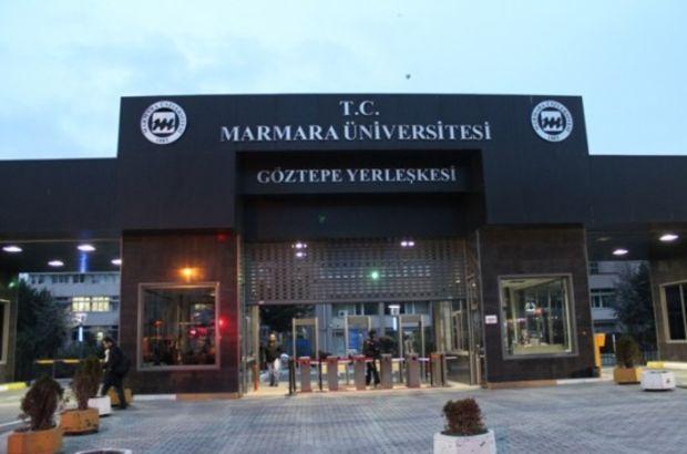 Marmara Üniversitesi'nde FETÖ operasyonu!