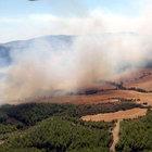 Tarihi Gelibolu'da yangın kontrol altına alındı