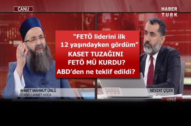 Cübbeli Ahmet Hoca Habertürk TV'de FETÖ'nün gerçek yüzünü anlattı