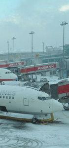 Atatürk Havalimanı kışa hazırlanıyor