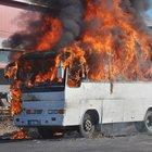 Tekirdağ'da firmaya kızdı ateşe verdi