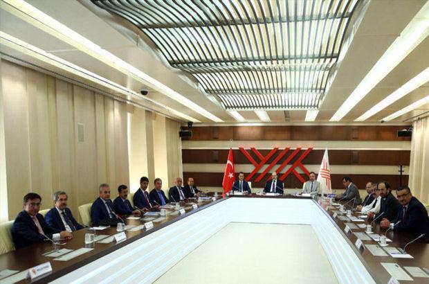 AK Parti'nin akademisyen milletvekillerinden YÖK'e ziyaret