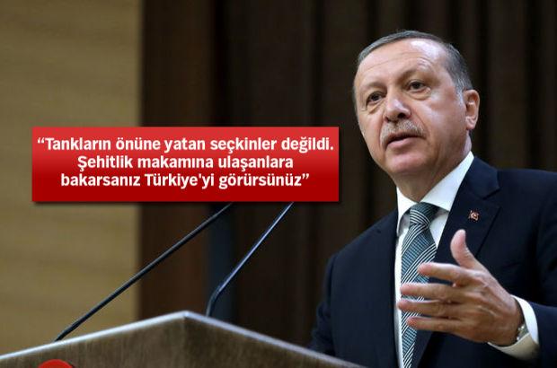Erdoğan: Avrupa'da yaşansa...