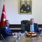 Mini anayasada üçüncü görüşme sonrası Bülent Tezcan açıklama yaptı