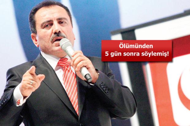 Muhsin Yazıcıoğlu fetullah gülen