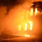 Bursa'da bir binada yangın çıktı