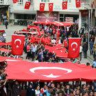 Terör örgütü PKK, Doğu ve Güneydoğu'da protesto edildi