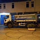 Terör saldırısı iddiası üzerine polis merkezlerine vidanjör ve su tankerleri kalkan yapıldı