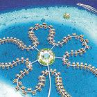 Okyanus Çiçeği, Yüzen Şiir ve diğer yapay adalar