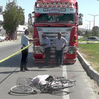Konya'da kamyonun çarptığı yaşlı adam öldü