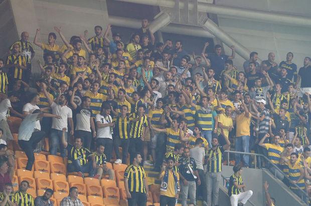 Başakşehir'de Fenerbahçe'ye büyük destek