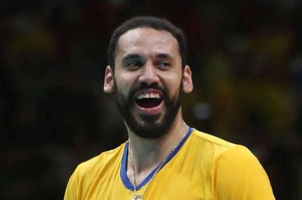 Mauricio Borges'in altın madalya sevinci