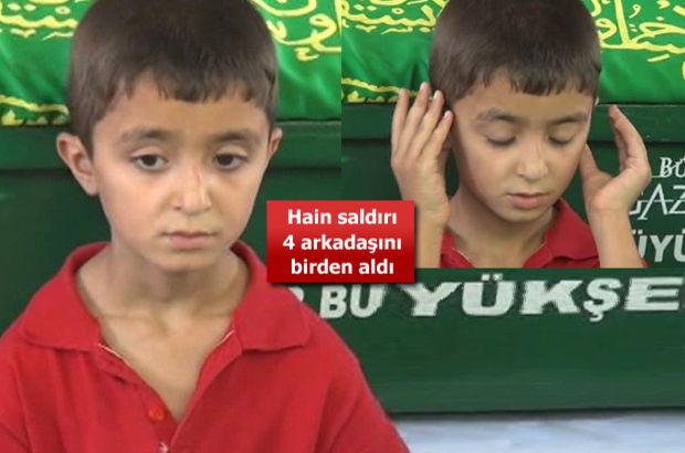 Minik Yusuf Gaziantep'te 4 arkadaşını kaybetti