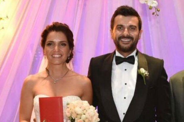 Gökhan Tepe ile Aylin Özer'le evlendi
