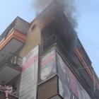 Aydın'da sıkışıp patlayan çakmak gazları nedeniyle yangın çıktı