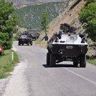 PKK'lı teröristler Ovacık'a sızmaya çalıştı; 2 terörist öldürüldü