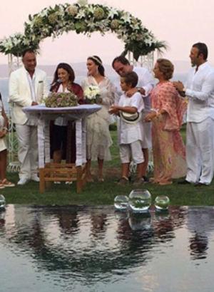 Bodrum'da gecikmeli düğün