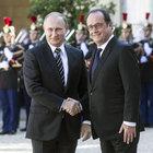 Putin, Hollande ve Merkel ile Ukrayna'yı görüştü