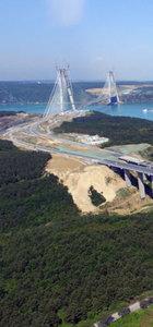 Yavuz Sultan Selim Köprüsü ile birlikte bağlantı yolları da açılıyor
