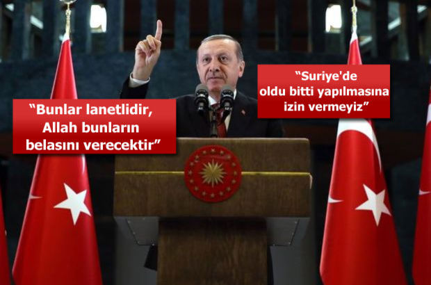 """""""Türkiye'ye meydan okuyanlar, siz ne olacağınızın hesabını yapın"""""""