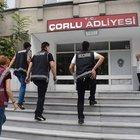 Çorlu'da FETÖ operasyonu: 47 adliye personeli gözaltında