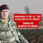 46 DAEŞ militanı öldürüldü! ÖSO Cerablus'un yüzde 50'sini aldı