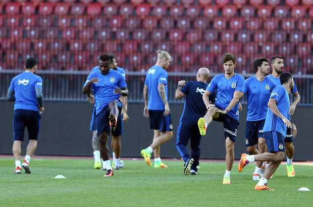 Fenerbahçe maça hazır