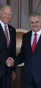 Başbakan Yıldırım ile Biden ortak basın açıklaması yaptı