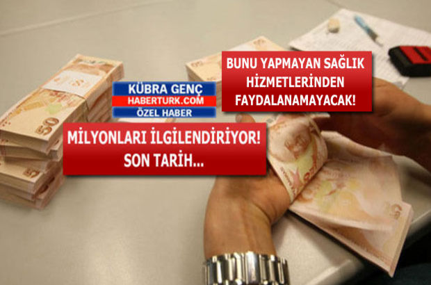 SGK ve GSS borcu olanlar dikkat!