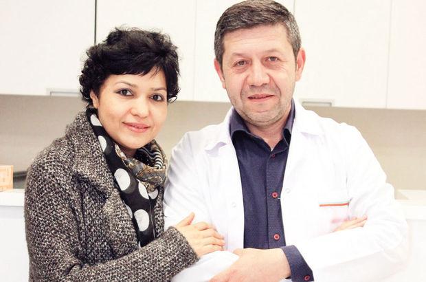 Baş ağrısı şikayeti olan Laçin Ahmedova'ya geniz kanseri teşhisi kondu