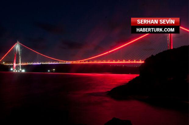 Yavuz Sultan Selim 'Gala' için ışıldıyor