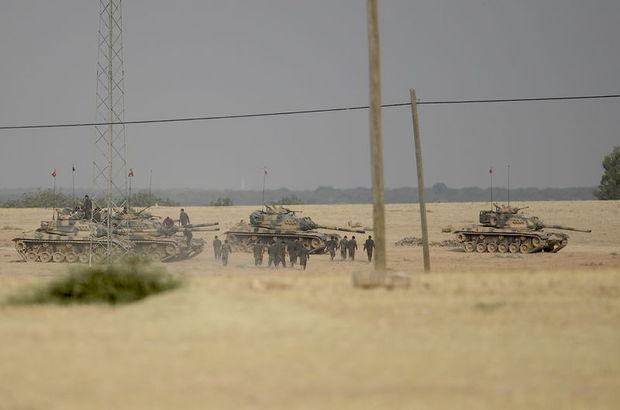 SON DAKİKA: Türk topçuları Cerablus'a yaklaşan YPG'yi vurdu!