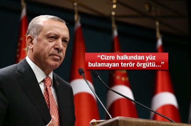 Erdoğan: Ülkemizin huzuruna kastedenlere asla geçit vermeyeceğiz