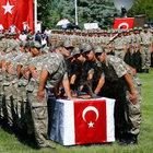 Askerler için yemin töreni düzenlendi