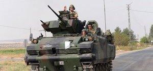Gaziantep'te sınır ötesine askeri sevkiyat