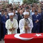 Artvin'de şehit olan Fatih Çaybaşı için Erzincan'da tören düzenlendi