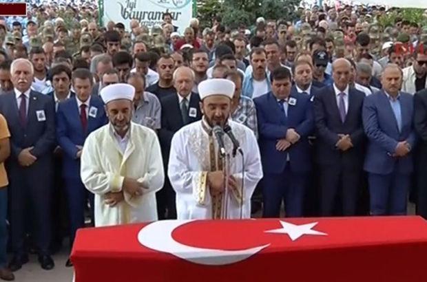 Kılıçdaroğlu 'helalleşmeye gidiyorum' dediği şehidin cenazesinde!