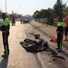 Yaşlı çifti trafik kazası ayırdı