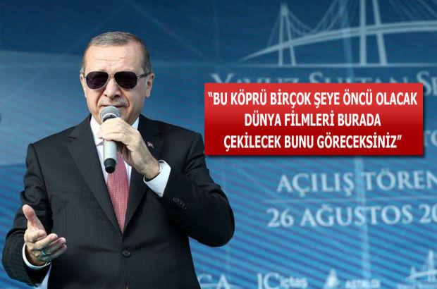 Erdoğan müjdeyi verdi! Köprü ne zamana kadar ücretsiz?