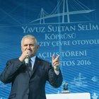 Başbakan Binali Yıldırım: İstanbul'un trafiği rahatlayacak