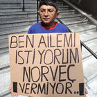 Norveç'in zorla çocuklarından ayırdığı Türkmen'in isyanı!
