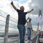 Yavuz Sultan Selim Köprüsü'nde ilk geçiş hatırası